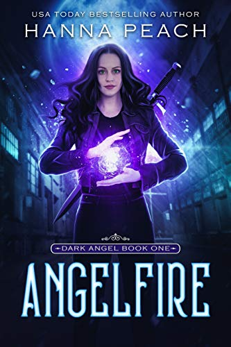 "Book Cover for ""Angelfire"" by Hanna Peach"