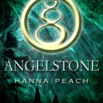 "Book Cover for ""Angelstone"" by Hanna Peach"