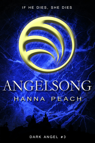 "Book Cover for ""Angelsong"" by Hanna Peach"