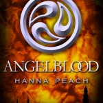 "Book Cover for ""Angelblood"" by Hanna Peach"