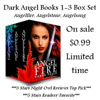 Interview with Alyx, Israel, and Jordan from the Dark Angel Series by Hanna Peach