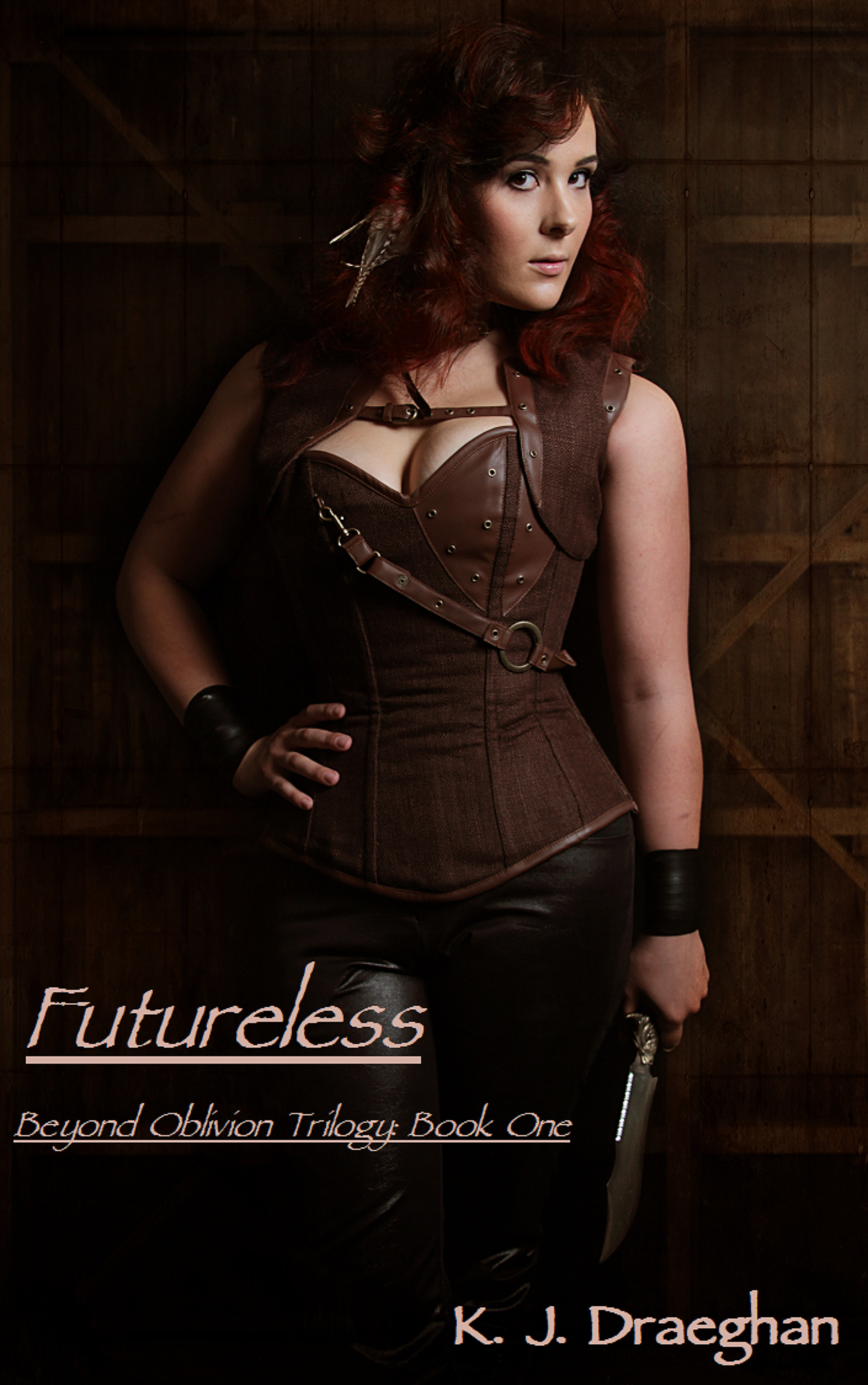 "Book Cover for ""Futureless"" by K.J. Draeghan"