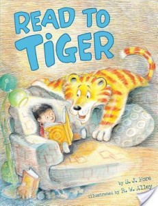 Children's Corner: Read to Tiger by S.J. Fore