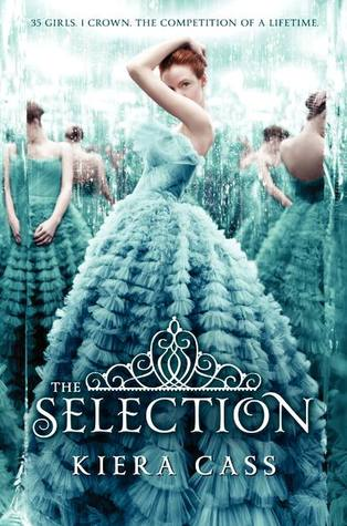 "Book Cover for ""The Selection"" by Kiera Cass"