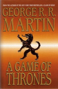 Book Cover for A Game of Thrones by George RR Martin