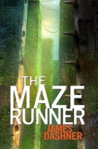 "Book Cover for ""The Maze Runner"" by James Dashner"