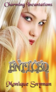 Book cover for Enticed Charming Incantations 1 by Monique Snyman