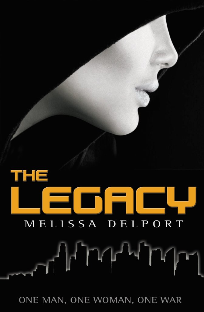 "Book Cover for ""The Legacy"" by Melissa Delport"