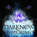 "Book Cover for ""Darkness Watching"" by Emma L. Adams"