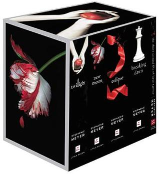 Book Cover for the Twilight Saga Complete Collection by Stephanie Meyer