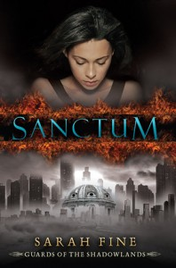 Book Cover for Sanctum by Sarah Fine