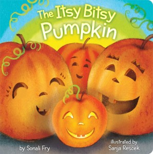 The Itsy Bitsy Pumpkin by Sonja