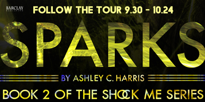 Sparks by Ashley C. Harris - Review, Meet the Author, & More