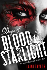 "Book Cover for ""Days of Blood & Starlight"" by Laini Taylor"