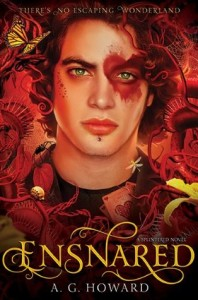"Book Cover for ""Ensnared"" by A.G. Howard"