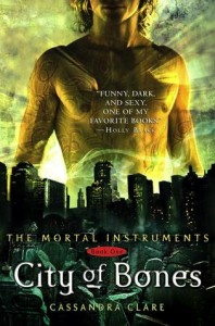 "Book Cover for ""City of Bones (The Mortal Instruments, #1)"" by Cassandra Clare"