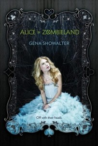 "Book Cover for ""Alice in Zombieland"" by Gena Showalter"