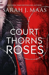 "Book cover for ""A Court of Thorns and Roses"" by Sarah J. Mass"