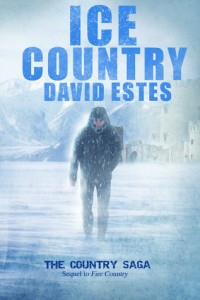 "Book Cover for ""Ice Country"" by David Estes"