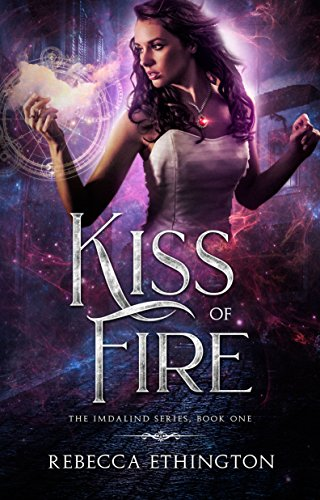 "Book Cover for ""Kiss of Fire"" by Rebecca Ethington"