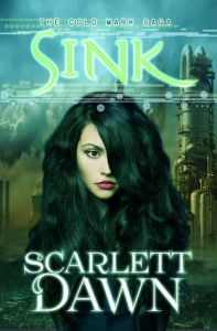"Book Cover for ""Sink (Cold Mark, #2)"" by Scarlett Dawn"