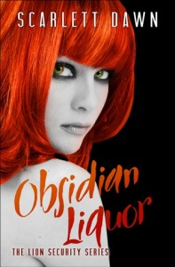 "Book Cover for ""Obsidian Liquor"" by Scarlett Dawn"