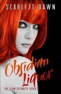 "Book Cover for ""Obsidian Liquor"" by Scarlett Dawn"