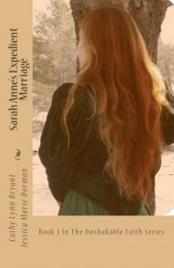 """Book Cover for """"Sarah Anne's Expedient Marriage"""" by Cathy Lynn Bryant"""