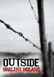 "Book Cover for ""OUTSIDE"" by Shalini Boland"