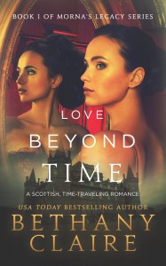 "Book Cover for ""Love Beyond Time"" by Bethany Claire"