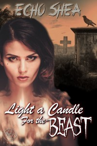 "Book Cover for ""Light a Candle for the Beast"" by Echo Shea"