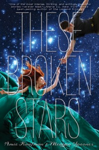 "Book Cover for ""These Broken Stars"" by Amie Kaufman"
