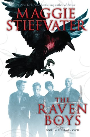 """Book Cover for """"The Raven Boys"""" by Maggie Stiefvater"""