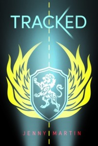 "Book Cover for ""Tracked"" by Jenny Martin"