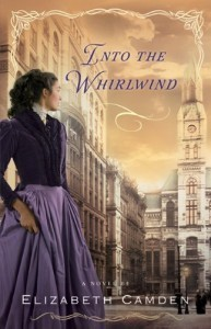 "Book Cover for ""Into the Whirlwind"" by Elizabeth Camden"