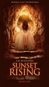 "Book Cover for ""Sunset Rising"" by S.M. McEachern"