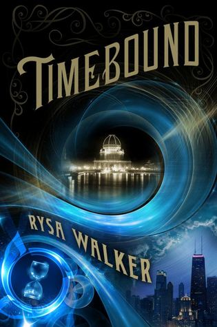 "Book Cover for ""Timebound"" by Rysa Walker"