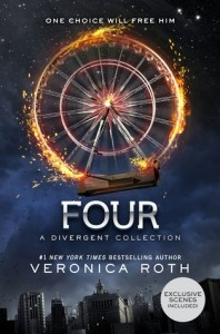 "Book Cover for ""Four: A Divergent Story Collection"" by Veronica Roth"