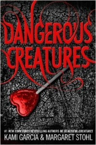 "Book Cover for ""Dangerous Creatures"" by Kami Garcia & Margaret Stohl"