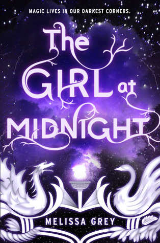 "Book Cover for ""The Girl at Midnight"" by Melissa Grey"