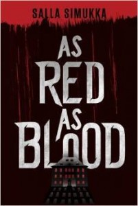 "Book Cover for ""As Red as Blood"" by Salla Simukki"