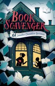 """Book Cover for """"Book Scavenger"""" by Jennifer Chambliss, Bertman"""