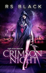 """Book Cover for """"Crimson Night"""""""