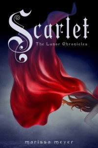 "Book Cover for ""Scarlet"" by Marissa Meyer"