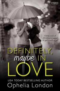 "Book Cover for ""Definitely, Maybe in Love"" by Ophelia London"