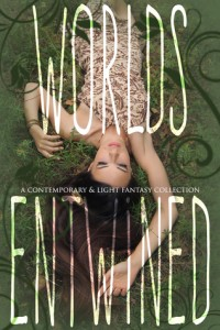 "Book Cover for ""Worlds Entwined"""