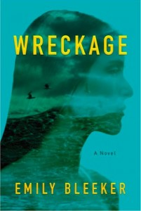 "Book Cover for ""Wreckage"" by Emily Bleeker"