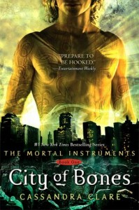 "Book Cover for ""City of Bones (TMI, #1)"" by Cassandra Clare"