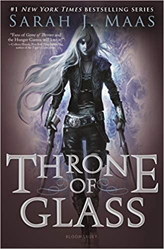 "Book Cover for ""Throne of Glass"" by Sarah J. Mass"