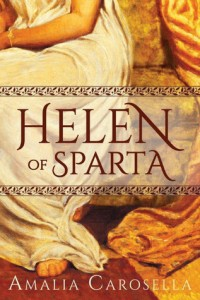 "Book Cover for ""Helen of Sparta"" by Amaila Carosella"